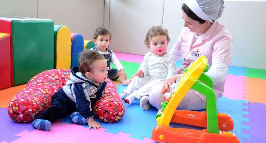 Curso grátis de Formação para Babás e Berçaristas