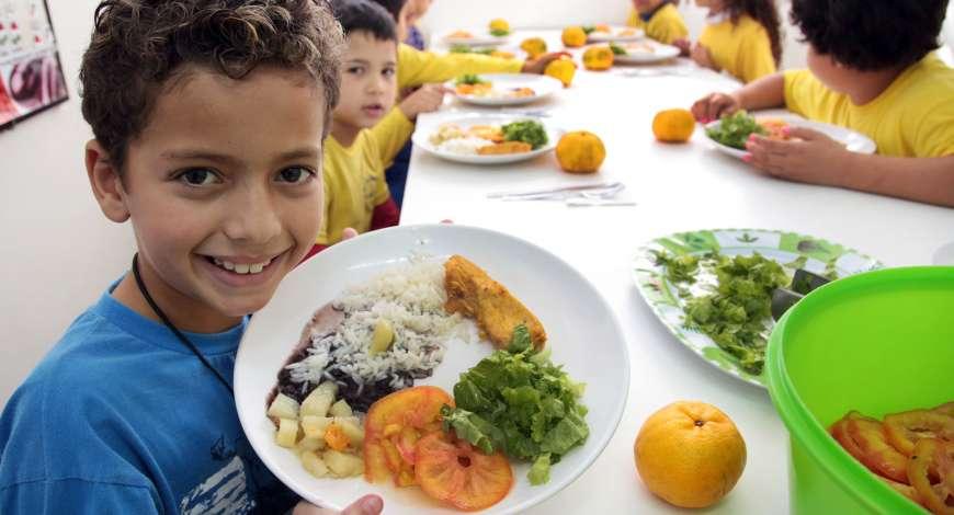 Curso grátis de Politicas de Alimentação Escolar